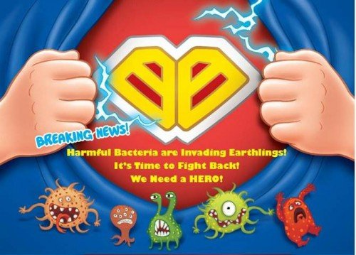 Carrie Bac Buster Cucian Badan Dan Tangan Antibakteria