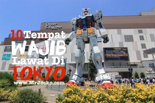 10 Tempat Wajib Lawat Di Tokyo Tempat Menarik