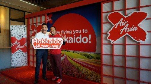 AirAsia X Umum Penerbangan KL Ke Sapporo