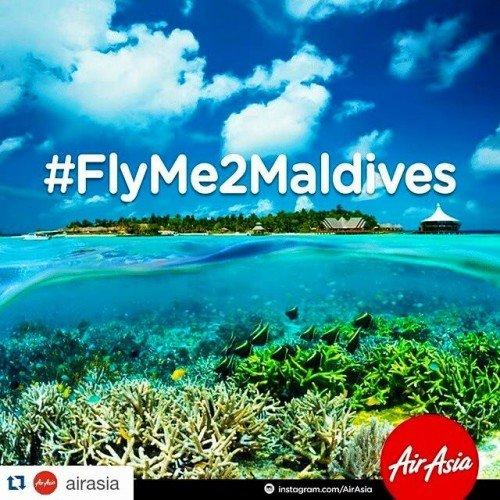 AirAsia Kembali Terbang Ke Maldives #FlyMe2Maldives