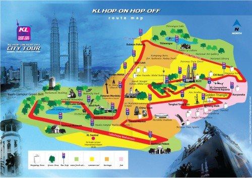 Teroka Kuala Lumpur Dengan KL HOP-ON HOP-OFF