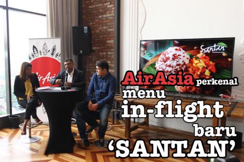AirAsia Perkenalkan InFlight Menu Baru Bertemakan ASEAN