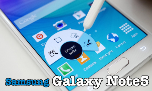 Samsung Galaxy Note 5 New Toys In The Market