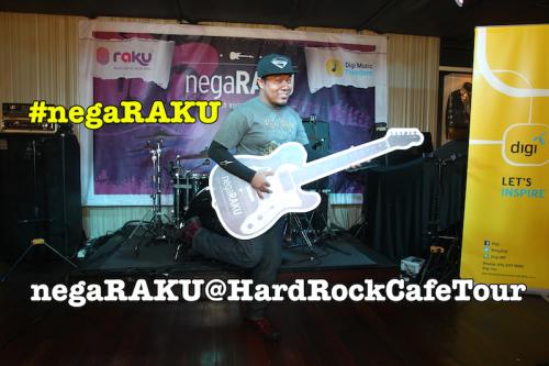 DIGI & RAKU bawa 'negaRAKU@HardRockCafeTour' sempena Merdeka