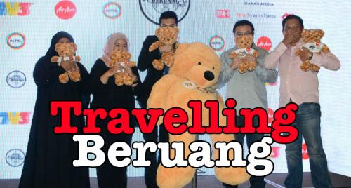 Kempen Travelling Beruang Untuk Kanak-kanak Kanser