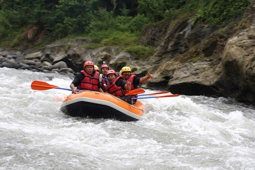 Teaser White Water Rafting Sei Bingei Medan, Explore Sumatera