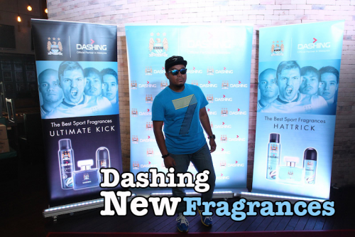 Dashing MCFC Fragrances Limited Edition Media Launch