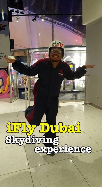 iFly Dubai My Skydiving Experience Video