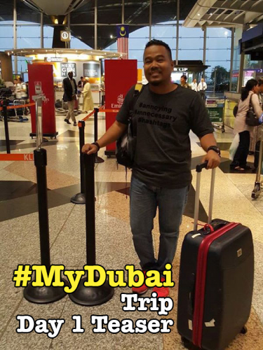 My Dubai Trip With Emirates Teaser Day 1