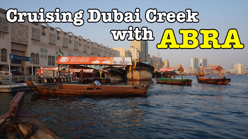 Cruising Dubai Creek With Abra : Video Clips