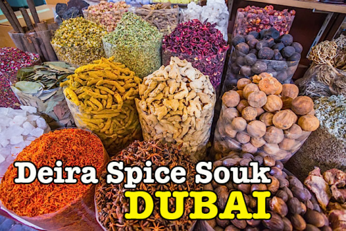 Menjejaki Rempah Di Deira Spice Souk Dubai