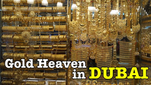 Shopping Gold At Gold Souk Dubai : Syurga Emas Dubai
