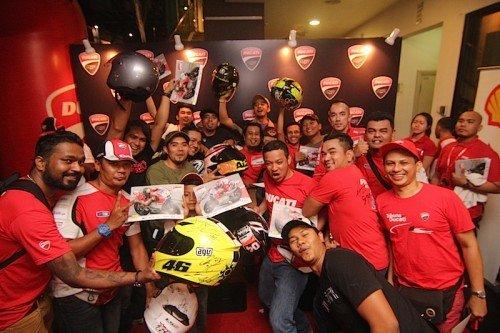 Naza Ducati Meet Greet Rider Publika
