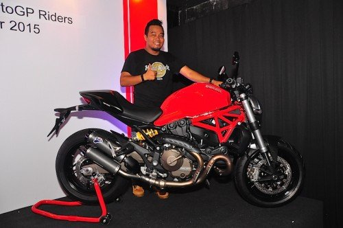 Dovizioso dan Iannone Ducati Monster 821