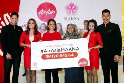 AirAsia & Selebriti Kumpul Lebih RM120000 Tabung MAKNA