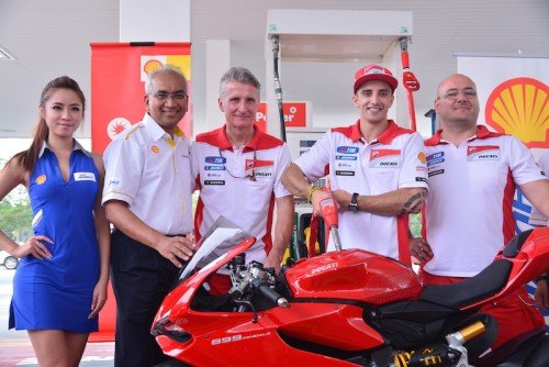 Shell Malaysia Meet And Greet Ducati Rider