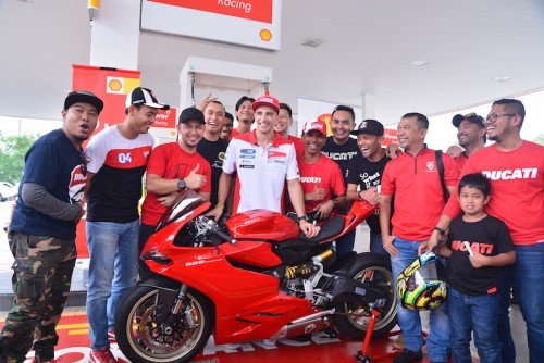 Shell Malaysia Meet And Greet Ducati Rider