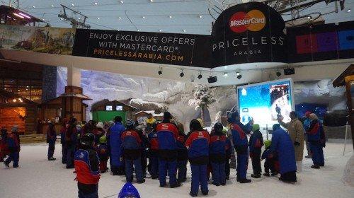 Pengalaman di Ski Dubai
