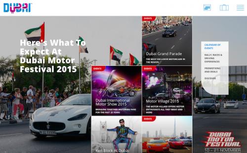 Kemeriahan Dubai Motor Festival 2015 Acara Berprestij Dunia