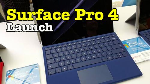 Microsoft Surface Pro 4 Launch Malaysia