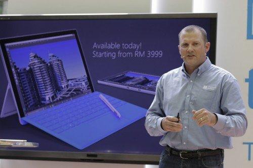 Pelancaran Microsoft Surface Pro 4 Malaysia