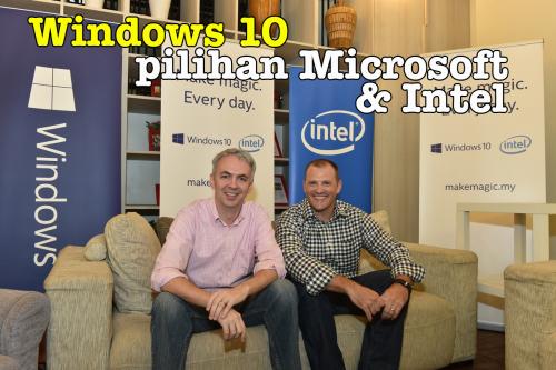OS Pilihan Windows 10 Microsoft dan Intel