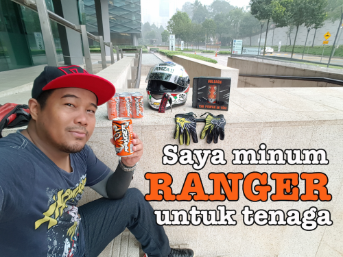 minuman tenaga Ranger