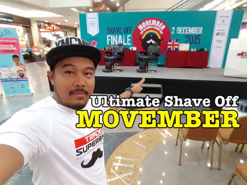 Ultimate Shave Off Sempena MOVEMBER MAKNA