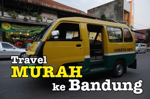 Cara Travel Murah Ke Bandung Indonesia