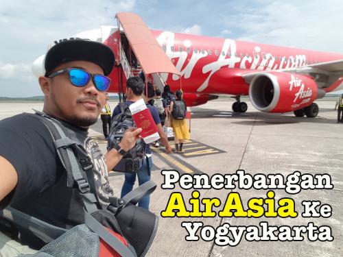 Penerbangan AirAsia Johor Bahru Ke Yogyakarta