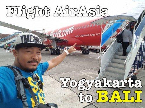Flight AirAsia Dari Yogyakarta Ke Bali