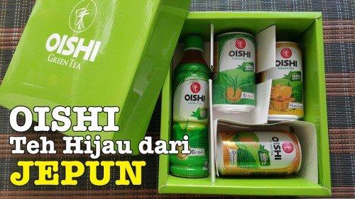 Oishi Minuman Teh Hijau Sedap Dari Jepun