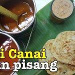 Roti Canai Daun Pisang Ravi's Banana Leaf