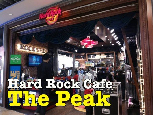Hard Rock Cafe The Peak Hong Kong Mesti Lawat