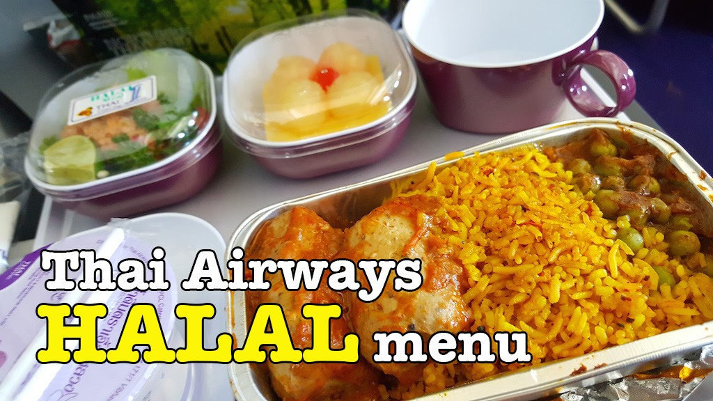 Menu Halal Thai Airways Memang Sedap