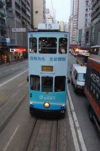 Tram di Hong Kong