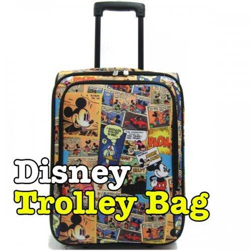 Beg Travel Jenama Disney Trolley Bag
