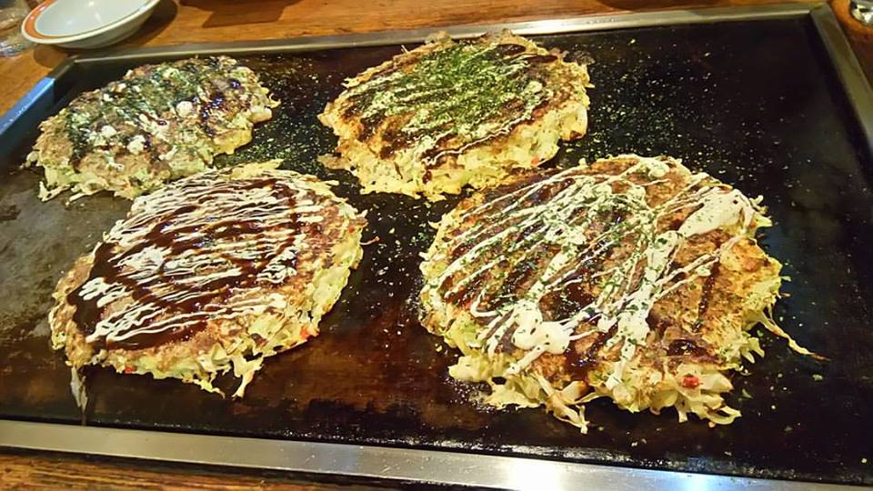 Okonomiyaki Jepun