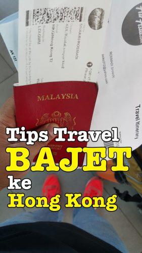 Tips Travel Bajet Ke Hong Kong Dengan AirAsia