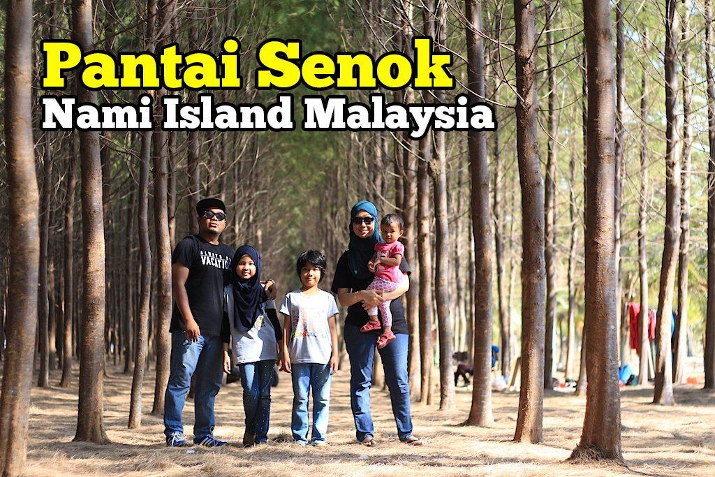 Pantai Senok Bachok Nami Island Malaysia