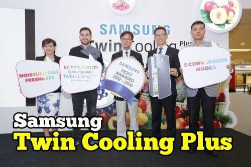 Samsung Perkenal Twin Cooling Plus Untuk Peti Ais