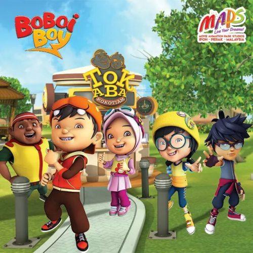 Malaysia Animation Park Studios MAPS Ipoh Taman Animasi