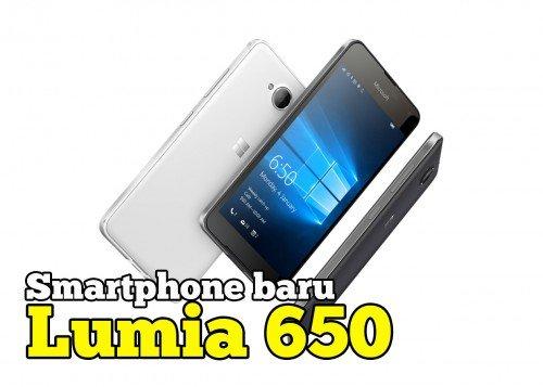 Smartphone Baru Microsoft Lumia 650 Harga RM899