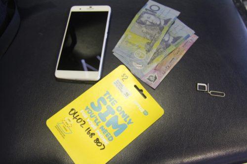 Sim Card Optus Prepaid Australia