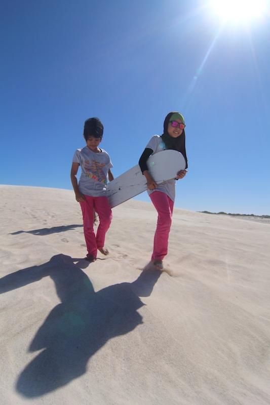 lancelin sand dunes Australia