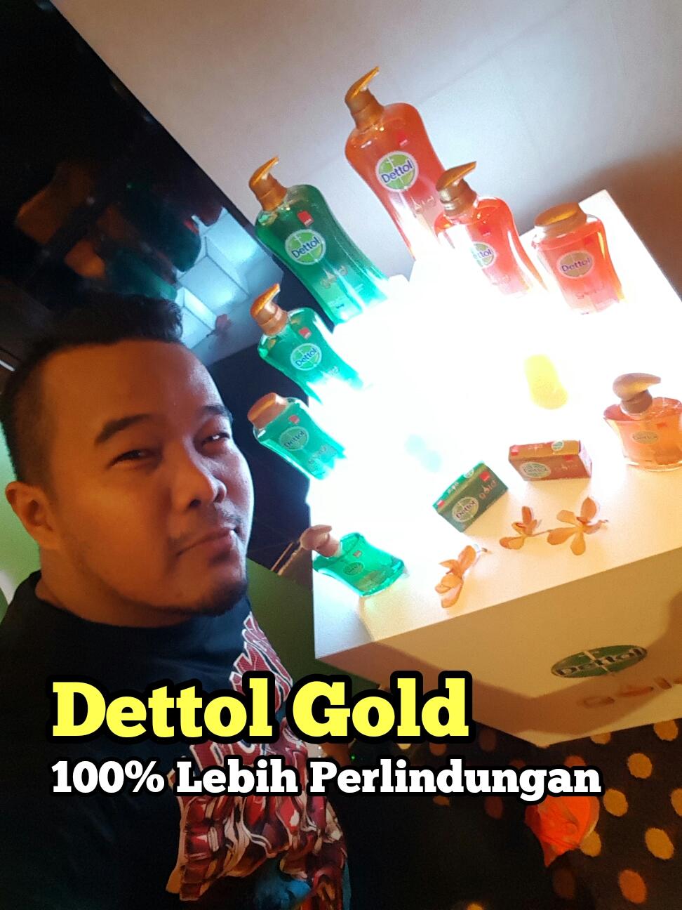 Sabun Dettol Gold 100% Lebih Perlindungan Untuk Keluarga