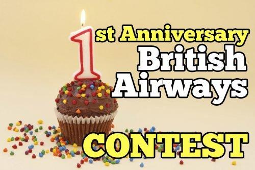 Contest Bake Away With British Airways 1st Anniversary
