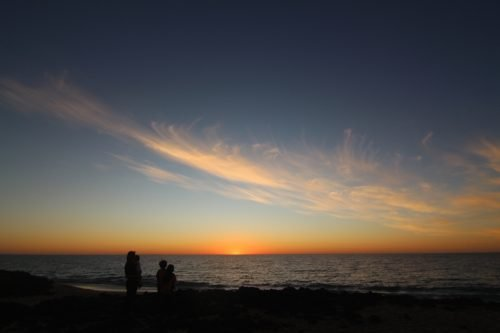 senja di Back Beach Bunbury