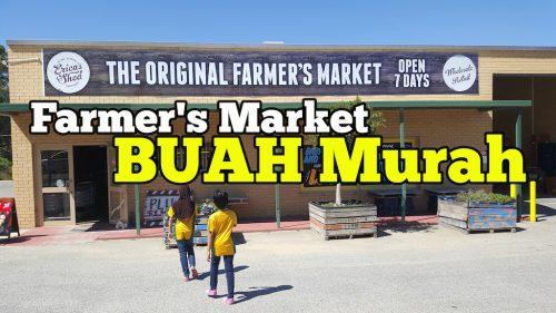 Farmers Market Pasaraya Jual Buah Murah di Australia