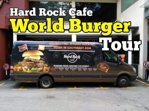 Hard Rock Cafe's World Burger Tour Malaysia